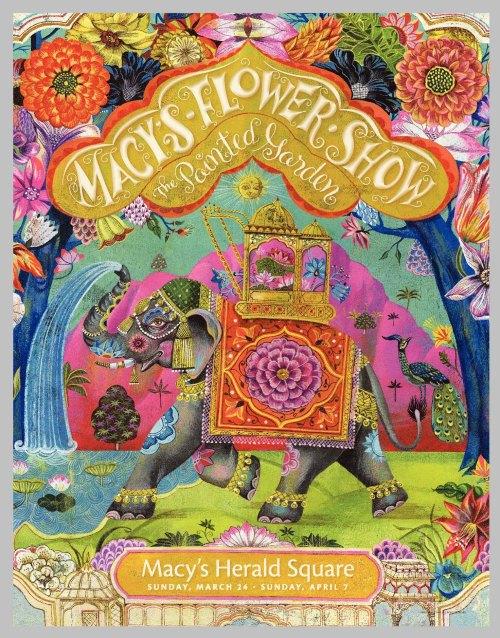 Macys Flower show poster