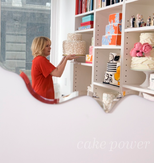 Please visit Kate's, newly designed website: www.cakepower.com.  You won't be disappointed!! (photo credit: Gail Albert Halaban)