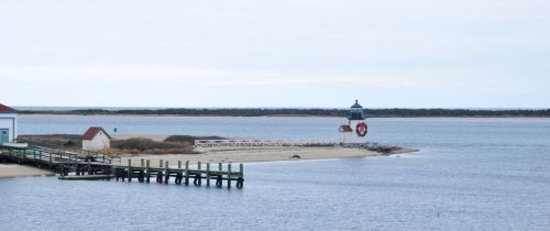 This is the scene that greets you as you come into Nantucket on the Ferry.  this little gem of a lighthouse called Brant Point Light.