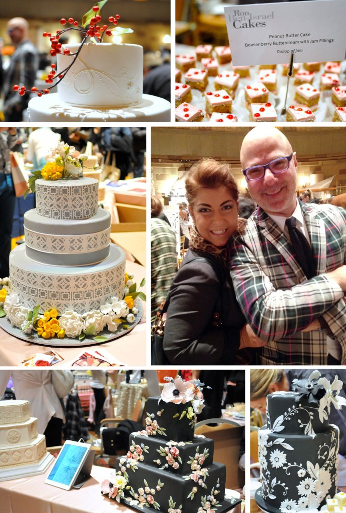 Of course, my baker Ron Ben-Israel was there!  It was nice catching up with him and chatting all things cake.  He brought some beautiful new designs and of course some tasty treats for the guests to enjoy.