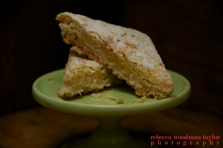 Lemon Squares, these are  my favorite dessert that these ladies make.