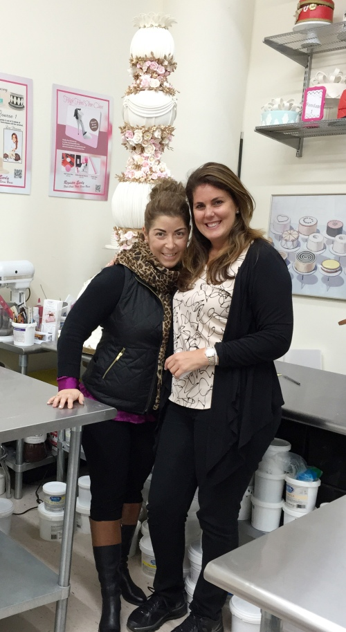 Always fun to see my cake friends.  If your in New York City, Stop by Lisa's store on 22nd & 6th Ave. http://www.nycake.com